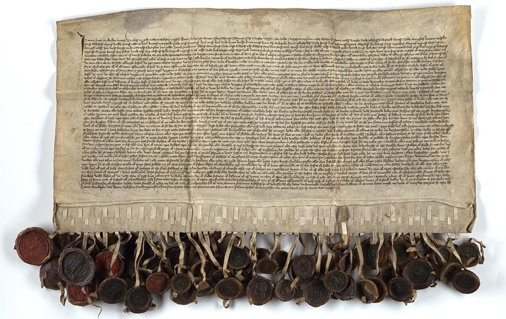 Privilegiebrev till Stockholms stad 1436.
