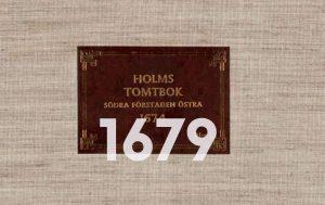 Holms tomtbok 1679.