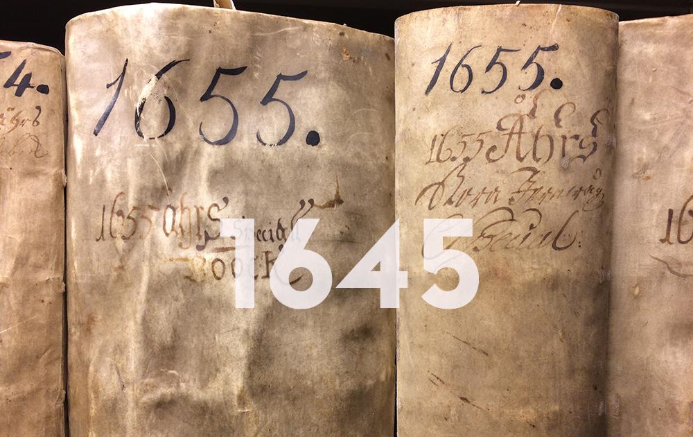 Kontributionslängderna i arkivet.