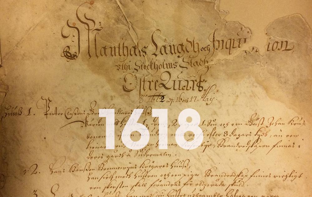Mantalslängd 1600-tal.