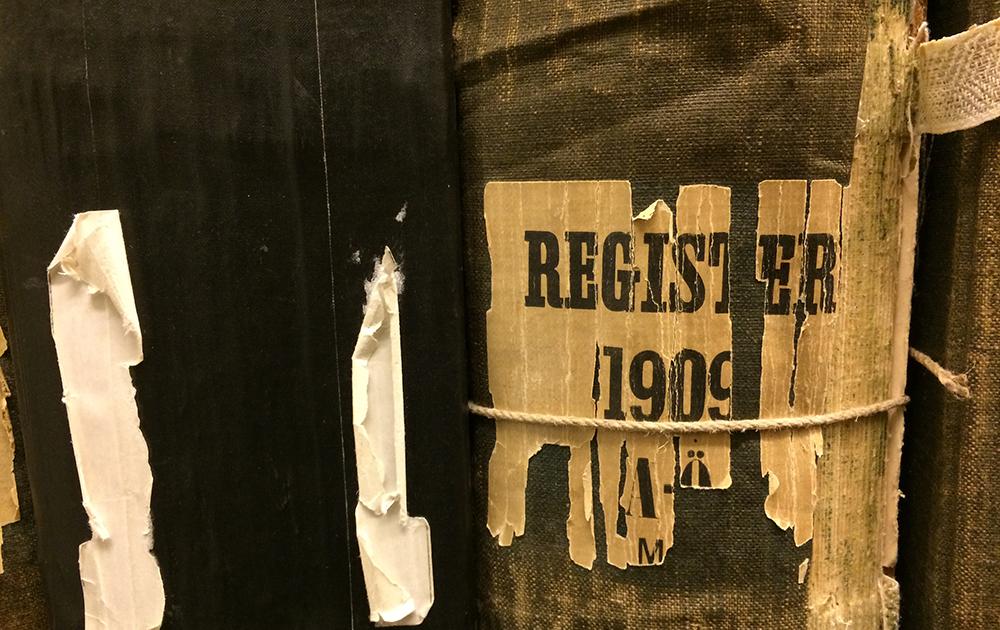 Mantalsregister 1909.
