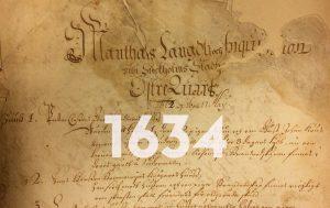 Mantalslängd 1634.